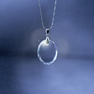 Crystal Oval Necklace