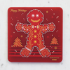 Pcb coaster christmasf cookie