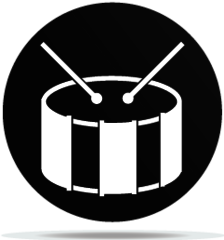 Gobo Music Drum