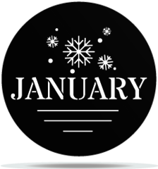 Gobo Months January