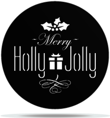 Gobo Christmas Holly Jolly
