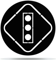 Gobo Signs Traffic Lights