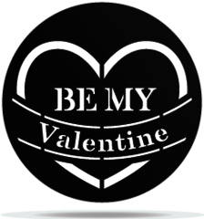 Gobo Valentines Be My