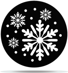 Gobo Weather Snowflakes 02