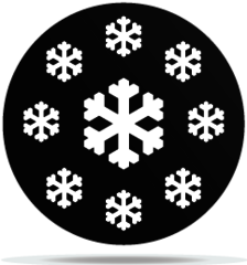 Gobo Weather Snowflakes 03