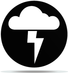 Gobo Weather Cloud Thunder
