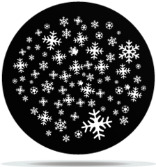 Gobo Weather Snowflakes 04