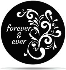 Gobo Wedding Forever & Ever