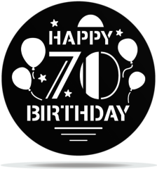 Gobo Birthday 70