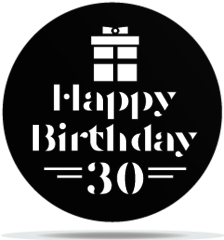 Gobo Birthday 30