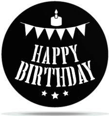 Gobo Birthday Pennants