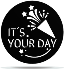 Gobo Birthday Your Day Confetti