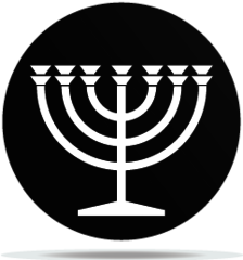 Gobo Holidays Menorah